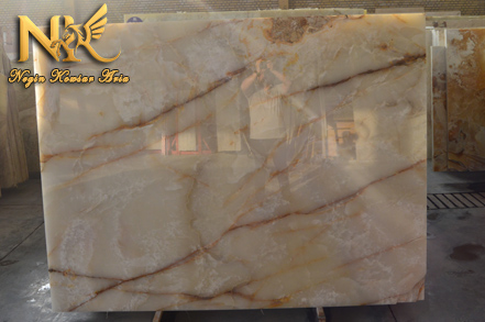 White Marble Striated